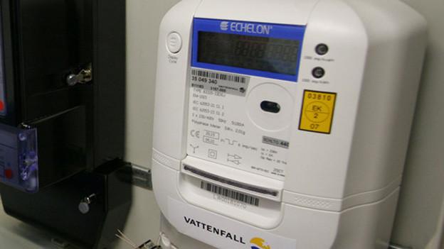 Neuer Stromzähler - sogenannter Smartmeter