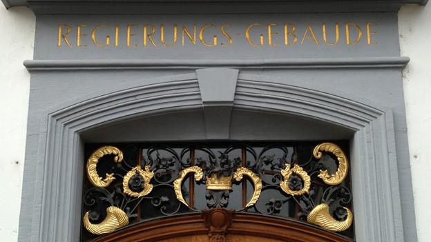Die Tür des Regierungsgebäudes sei offen für die Gemeinden, sagt Finanzdirektor Anton Lauber.