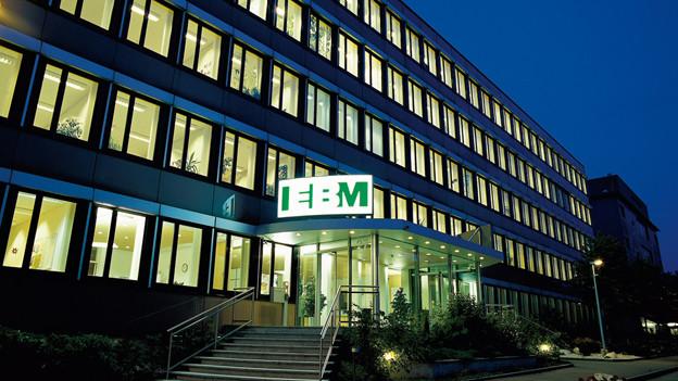 EBM-Hauptsitz in Münchenstein