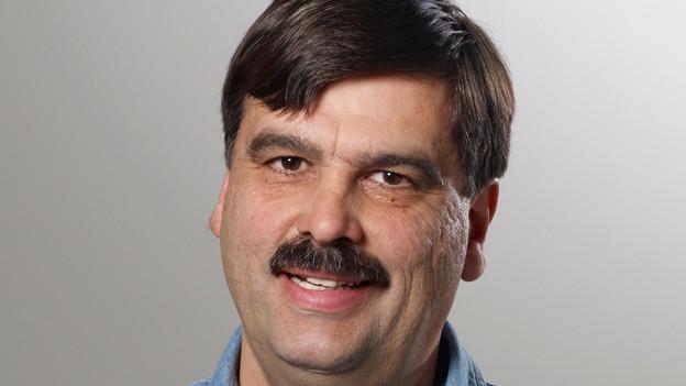 Der Allschwiler CVP-Kandidat Franz Vogt