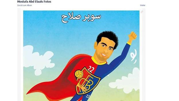 FCB-Spieler Salah als Superheld: Der FCB hat Tausende neuer ägyptischer Facebook-Fans