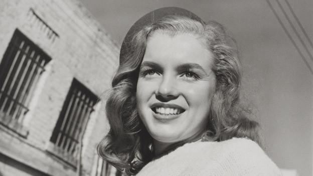 Marilyn Monroe auf einem Foto von 1946.