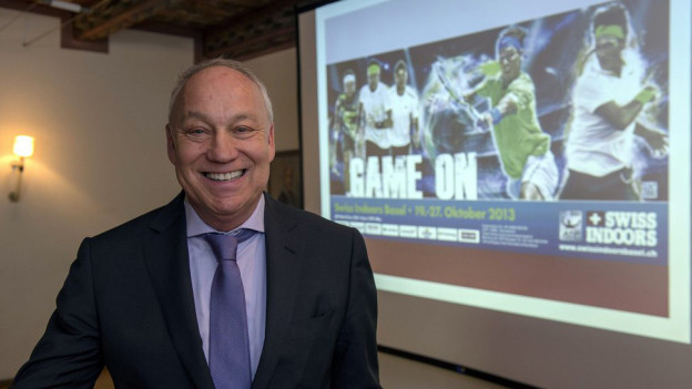Freut sich aufs Turnier: Swiss-Indoors-Chef Roger Brennwald.