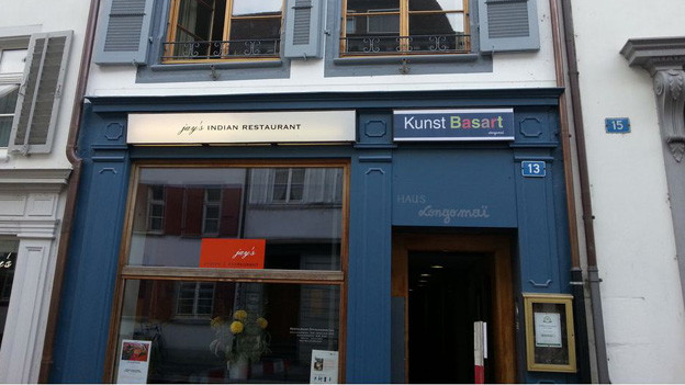 Der Hauptsitz von Longo Mai in der St.-Johanns-Vorstadt.