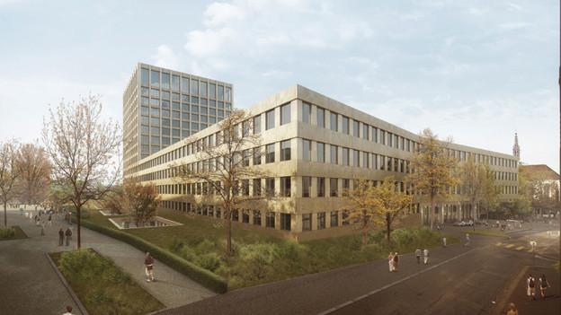 Das Spitalprojekt der Architekten Hönger / Giuliani