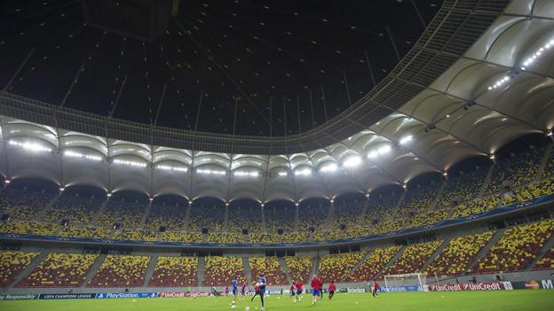 Das Stadion des rumänischen Rekordmeisters Steaua Bukarest.