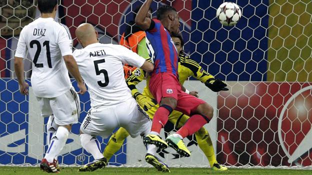 Tatu wendet mit Tor in 88. Minute Niederlage für Steaua ab.