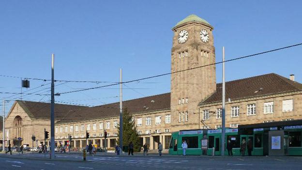 Das Veloparking soll unter dem Badischen Bahnhof eingebaut werden.