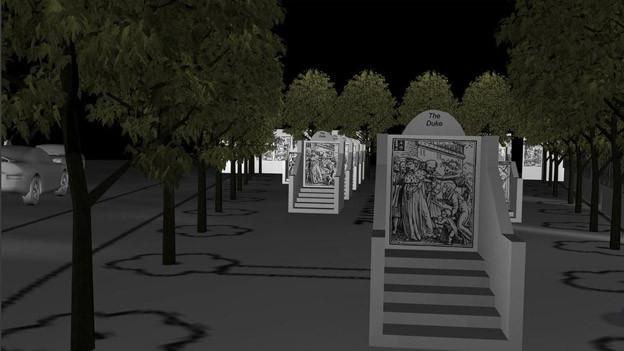Greenaways Totentanz-Projekt bei der Predigerkirche