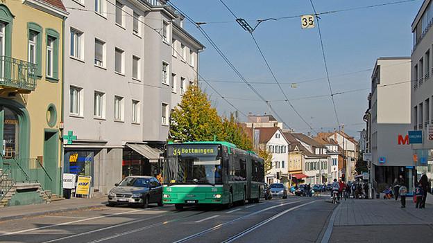 Hauptstrasse in Binningen