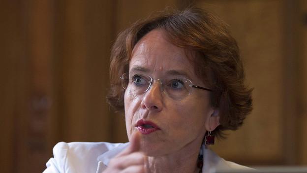 Eva Herzogs (SP) Finanzpolitik bot Bürgerlichen bisher kaum Angriffsflächen.