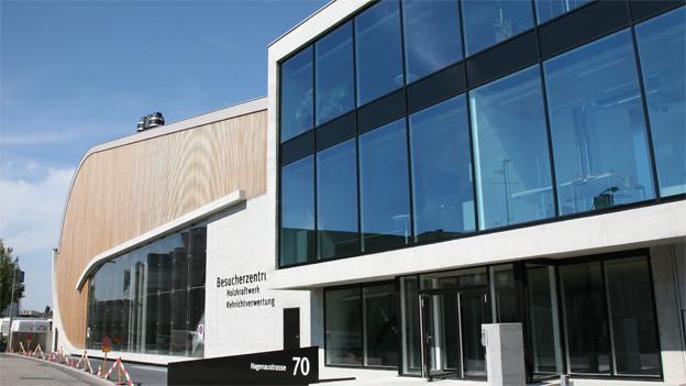 In Basel hat die IWB bereits ein Holzkraftwerk