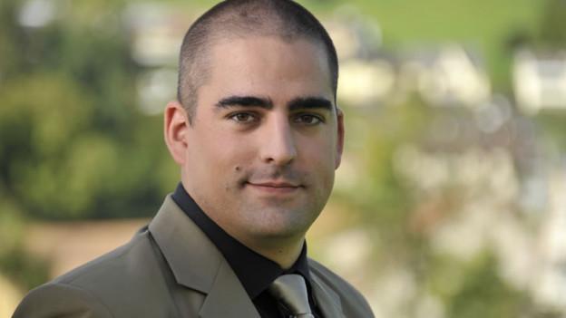 Portrait von Landrat Marco Born