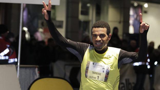 Wieder die gleichen Elite-Sieger beim Basler Stadtlauf