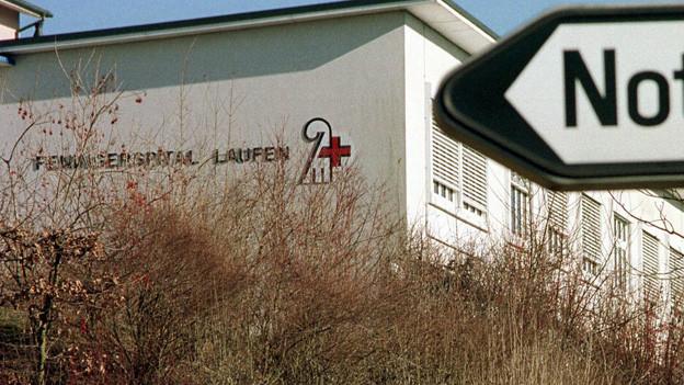 Die Basler Regierung will am Spital Laufen die Geburtsabteilung schliessen.