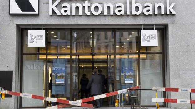 Baustelle Teppichetage: Basler Kantonalbank