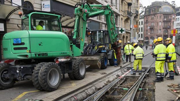 Die BVB ist derzeit eine einzige Baustelle