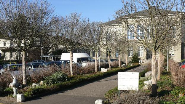 Die universitäre Psychiatrische Klinik an der Flughafenstrasse.