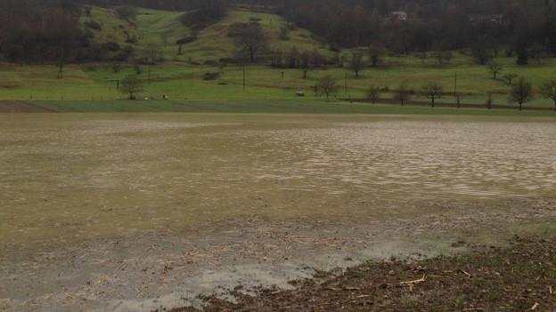 Dauerregen im Baselbiet sorgt für Probleme