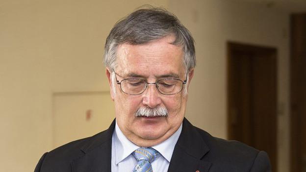 Entlastet ein Gutachten alt Regierungsrat Adrian Ballmer?