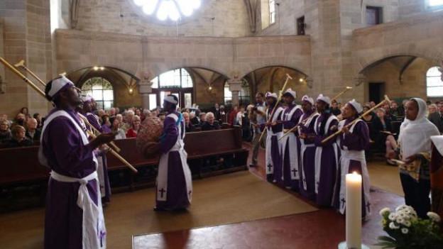 Gottesdienst am Tag der Völker in der Pausluskirche