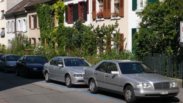 Dauerthema in Basel: Parkplätze