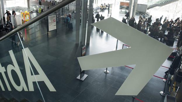 Eingangshalle EuroAirport