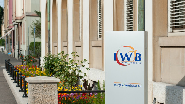 IWB-Hauptsitz in Basel