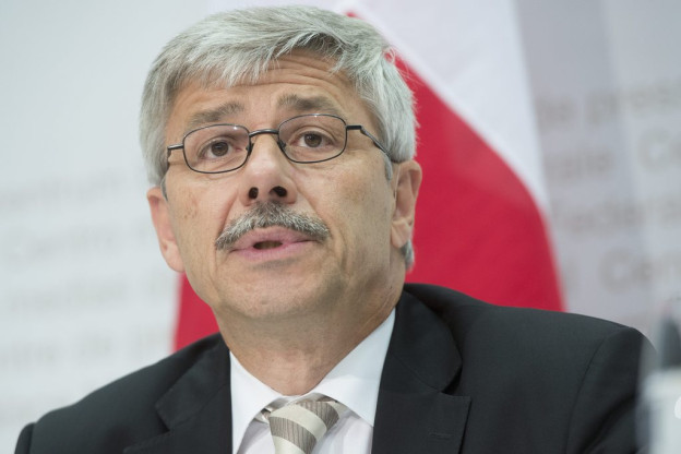CVP-Regierungsrat Carlo Conti vor seiner Partei