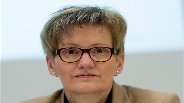 Ihre Kandidatur löst keine Begeistrung aus: Sabine Pegoraro