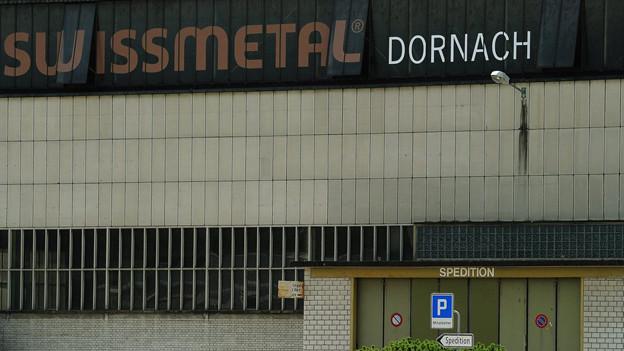 Das Swissmetal-Gebäude in Dornach.