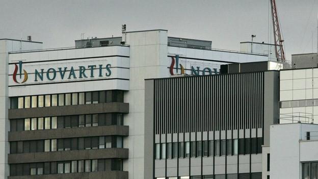 Novartis schaut zufrieden auf das letzte Jahr.