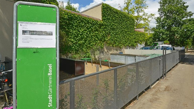 Kompostplatz und Bioklappe halten Basler Behörden für sinnvolle Kombination.