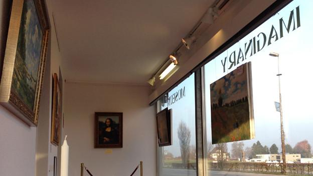 Die Mona Lisa im Zentrum der Ausstellung