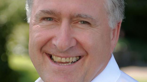 Porträt des Kantonsspital CEO Heinz Schneider