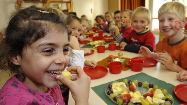 Kunterbund: Im Matthäus-Quartier gehen Kinder aus aller Welt in den Kindergarten.