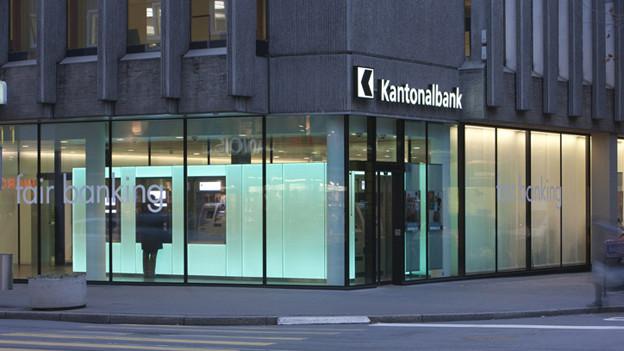 Basler Kantonalbank an der Aeschenvorstadt