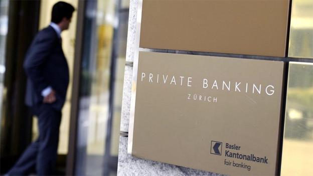 Die BKB-Filiale in Zürich wird geschlossen