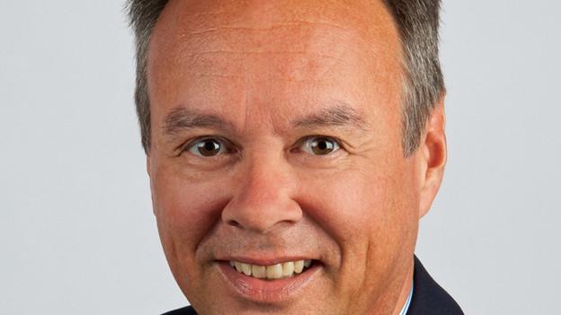Der GPK-Präsident Hans-Peter Weibel