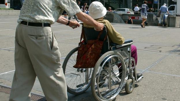 Behinderte blitzen ab