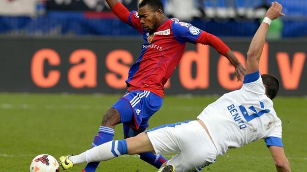 Auch Geoffroy Serey Dié erfolglos im Einsatz gegen den FCZ.