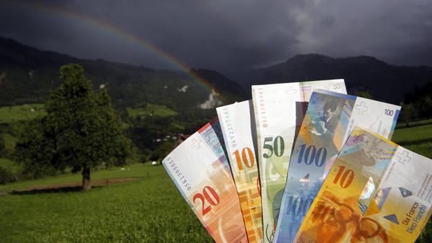 Dunkle Wolken am Baselbieter Finanzhimmel