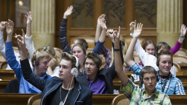 Muttenzer Gewerbeschüler gingen zahlreich an die Urne