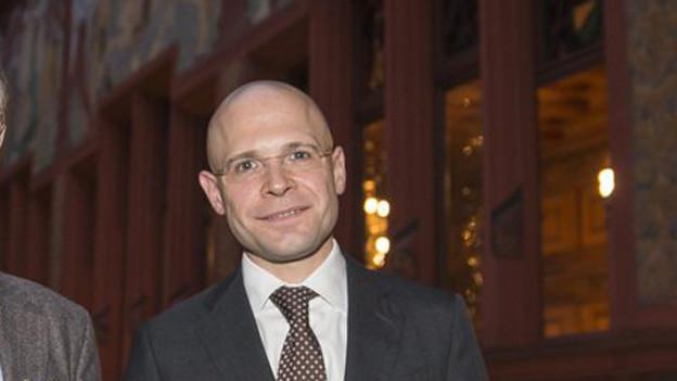 Der Basler Sicherheitsdirektor Baschi Dürr kann sich einen Cupfinal in Basel vorstellen
