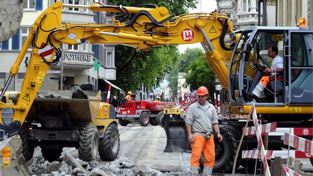 Baustellen sollen besser koordiniert werden