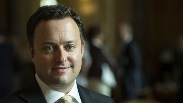SVP-Präsident Sebastian Frehner