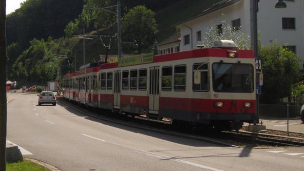 Das Waldenburgerli bald nicht mehr schmalste Schmalspurbahn?