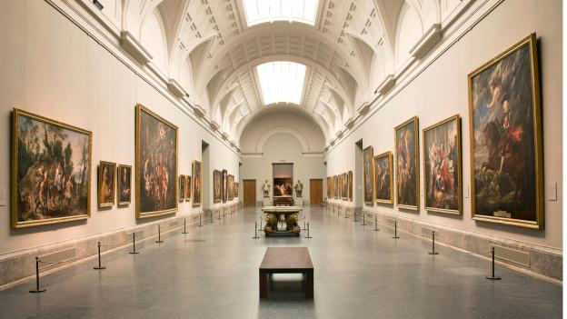 Das Museo Nacional del Prado in Madrid.