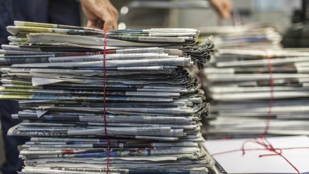 Altpapier als Rohstoff - wertvoll genug, um geklaut zu werden.