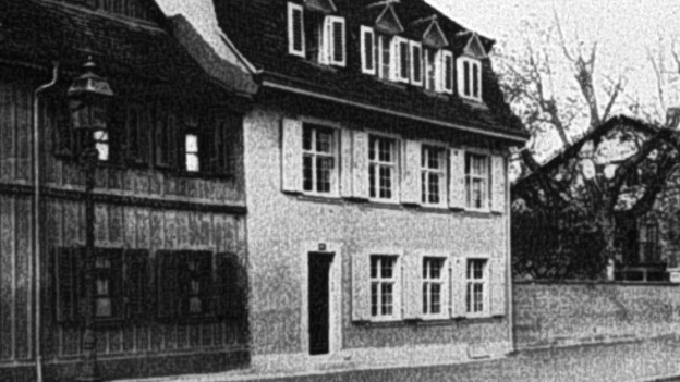 Das Basler Augenspital bei der Eröffnung